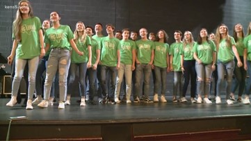 Reagan HS show choir took the stage with Foreigner | Kids Who Make SA Great