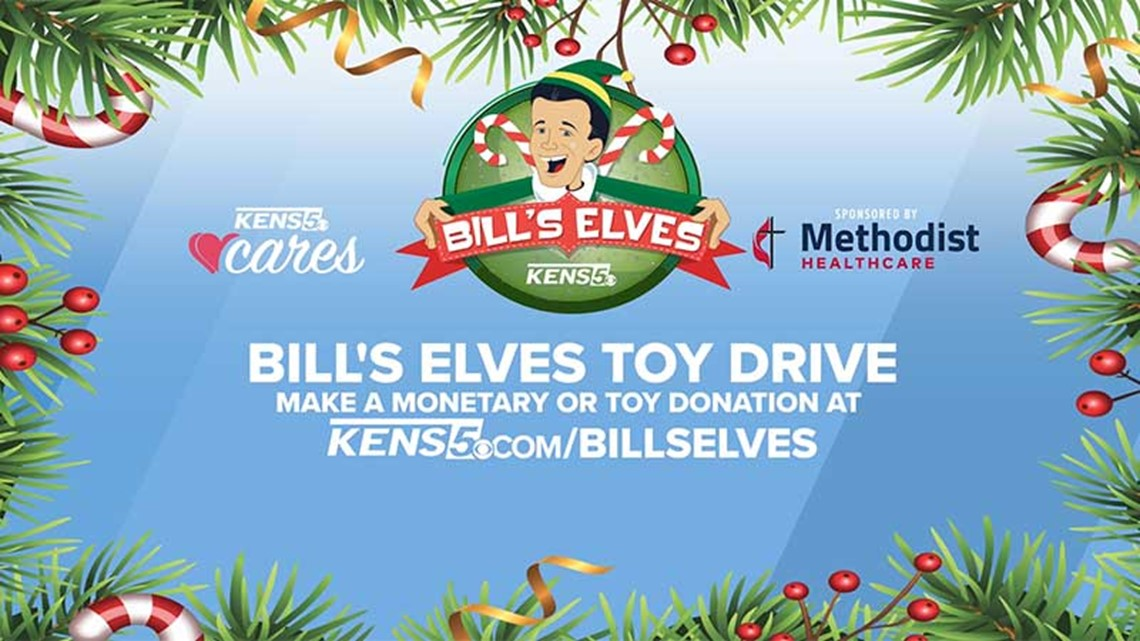 BILL'S ELVES: Donate new unwrapped toys to benefit kids of Child Protective Services