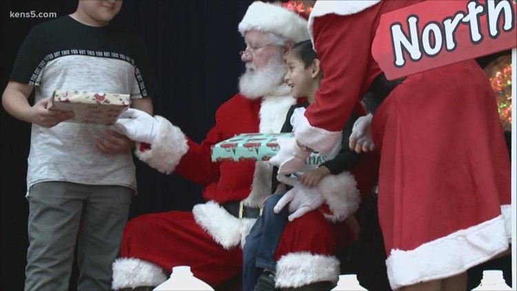 Shriners of Central and South Texas hosts Christmas event for kids