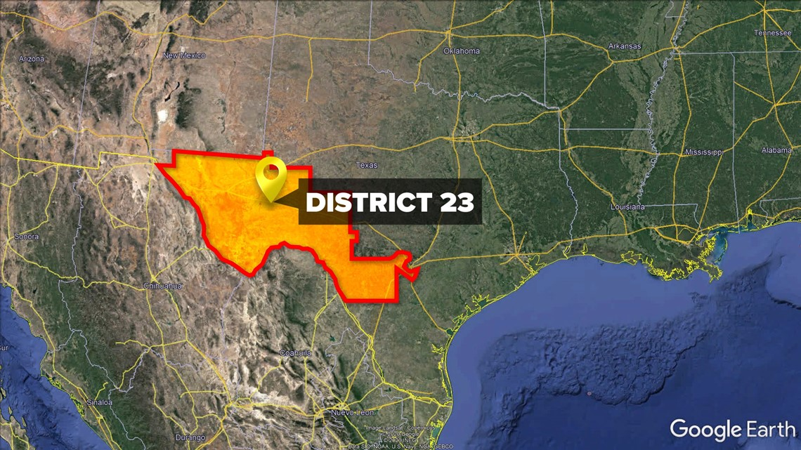 Primary race for Texas Congressional District 23 election heats up
