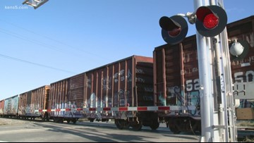 Drivers sign petition on railroad crossing