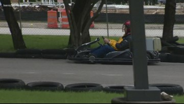 Texas Outdoors takes on go-cart racing