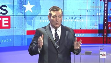 TEXAS DEBATE: Sen. Cruz says voters should choose hope and vote for him in closing remarks