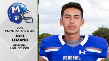 Player of the Week: Memorial HS quarterback Joel Lozano was born a leader
