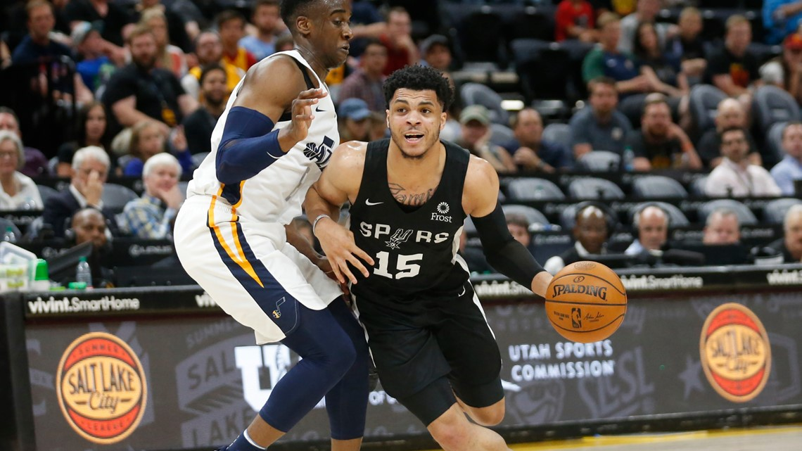 Spurs second-round pick Quinndary Weatherspoon signs two-way contract