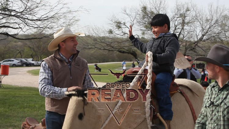 Kids learn to rodeo from the pros
