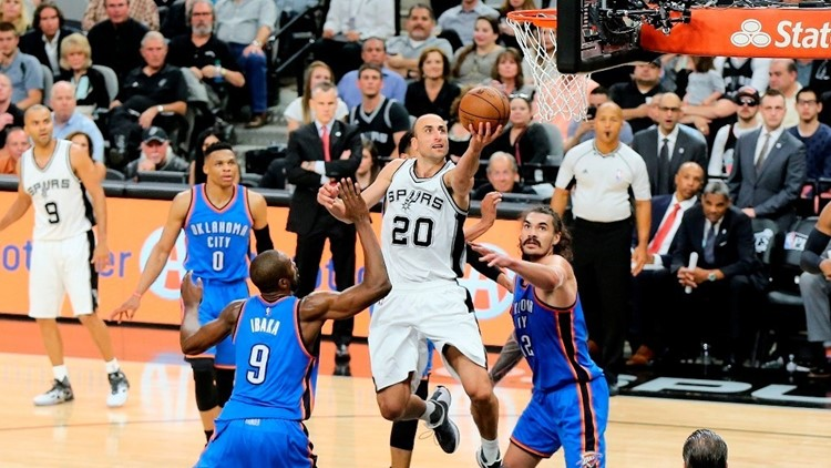 Spurs announce signed Manu Ginobili gear auction before jersey retirement ceremony