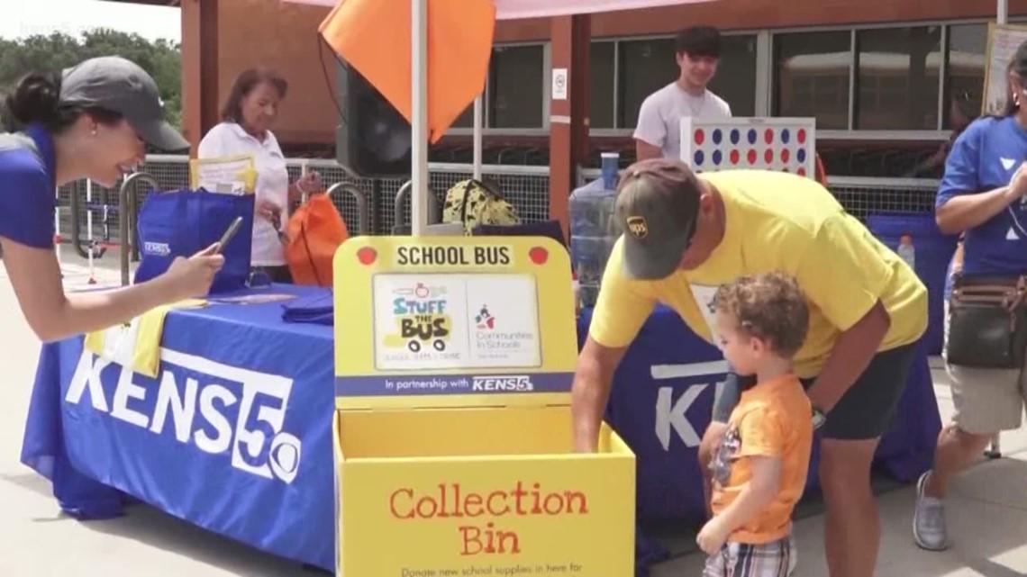 Stuff the Bus a big success for SA students | KENS Cares