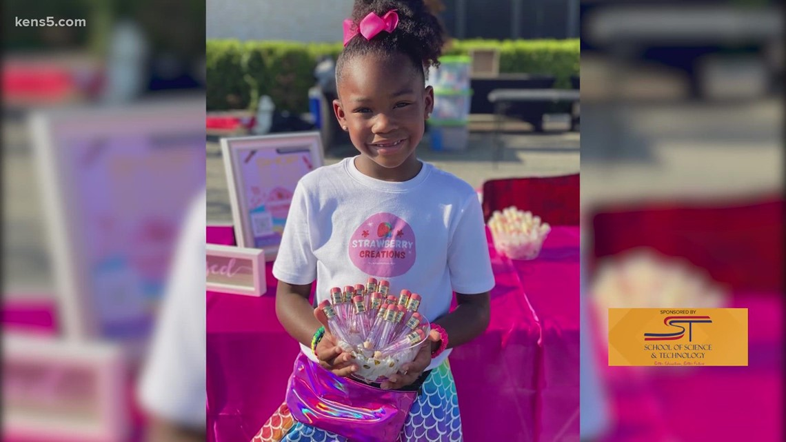 Kindergarten cosmetic CEO launches philanthropic effort for Haitian migrants   Kids Who Make San Antonio Great