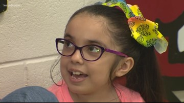 Third-grader warms hearts, feet at Children's Shelter | Kids Who Make San Antonio Great