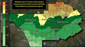 Heavy rainfall, severe storms possible Wednesday