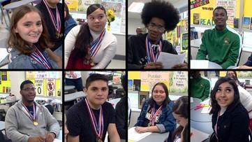 Sam Houston High academic decathlon team defies expectations| Kids Who Make SA Great