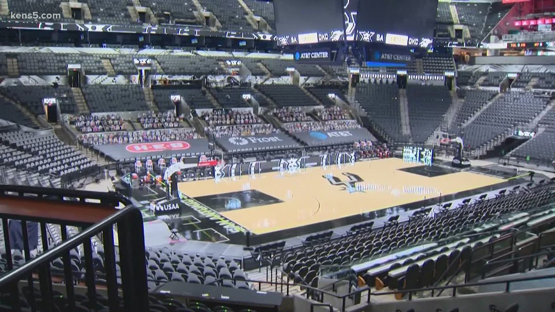 Spurs fans will be allowed back in the AT&T Center