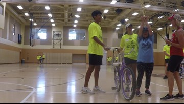 Local kids with special needs proud to ride on two wheels
