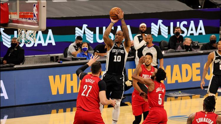SPURS GAME DAY: Silver and Black inch closer to clinching playoff spot with teach win