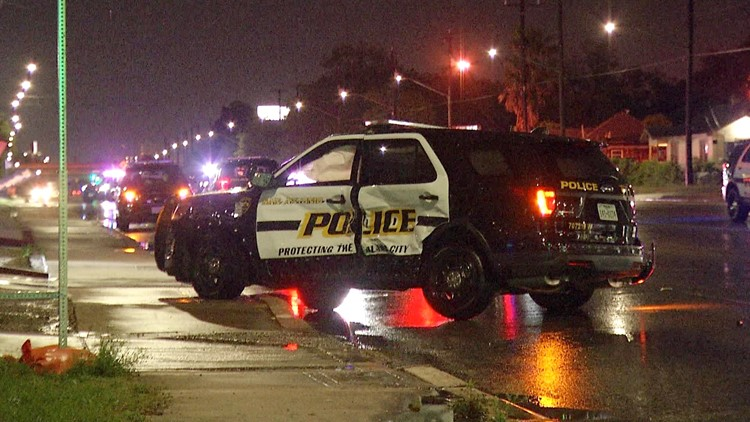 San Antonio police officer injured in overnight accident | kens5 com