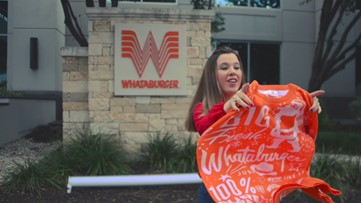 Whataburger unveils Christmas sweater