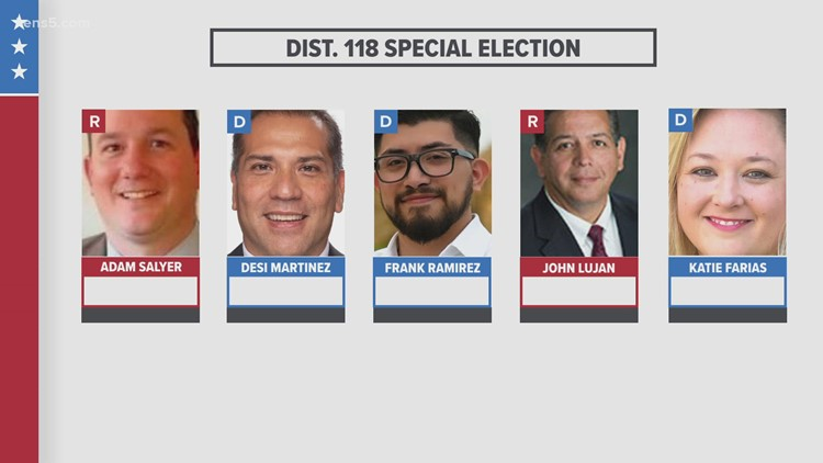 Bexar County voters head to the polls to decide a special election for Texas House District 118