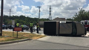 Man, pregnant woman injured in three-car accident