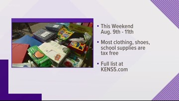 Save some money on back-to school shopping: This weekend is tax-free weekend!