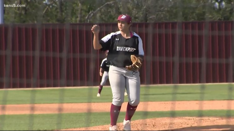 This softball player needed a challenge. So she joined the baseball team, making history.