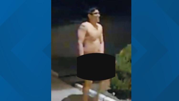 Deputies: Naked man, woman found in neighbors yard