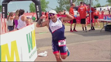 Veteran races to help wounded service members