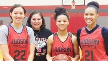 Judson, Vets Memorial girls within two wins of another state berth