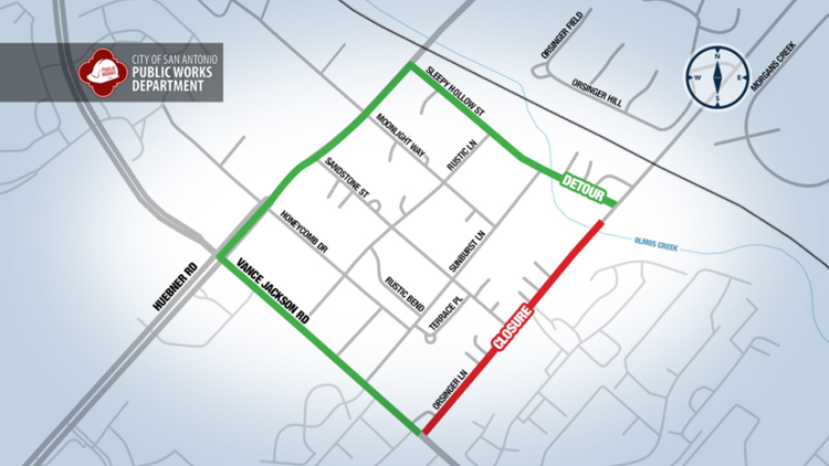 Plan your commute | Road closure on city's north side to last approximately three months