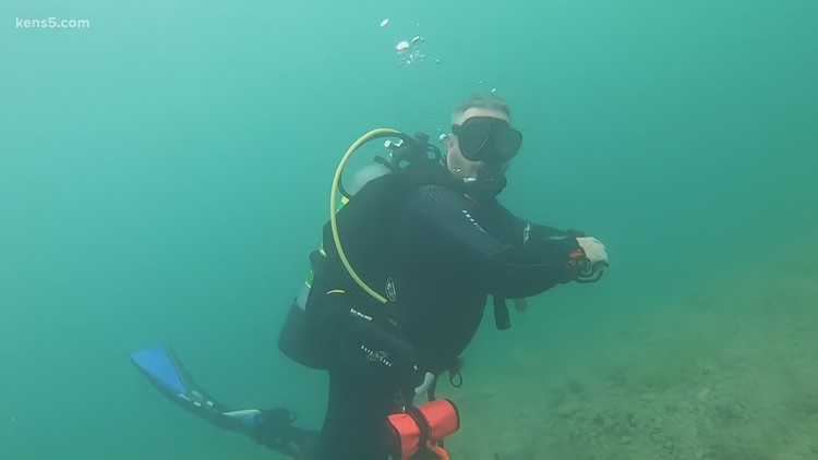 Ever wonder what it's like to dive into Canyon Lake? There's much more than meets the eye | Texas Outdoors