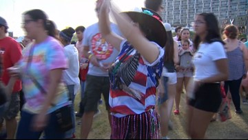 S.A. woman spreads positivity with dance moves, outfits at festivals