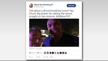 'I love this city': Barkley sets record straight for S.A. Mayor Nirenberg