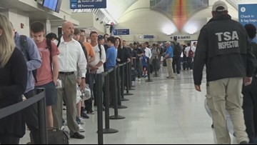 K-9s, live music for San Antonio Airport's record-high travelers