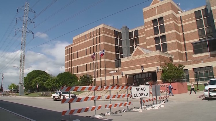 """Deputies with the sheriff's office found a ceiling tile that """"appeared to be disturbed,"""" which prompted a lockdown at the Bexar County jail."""