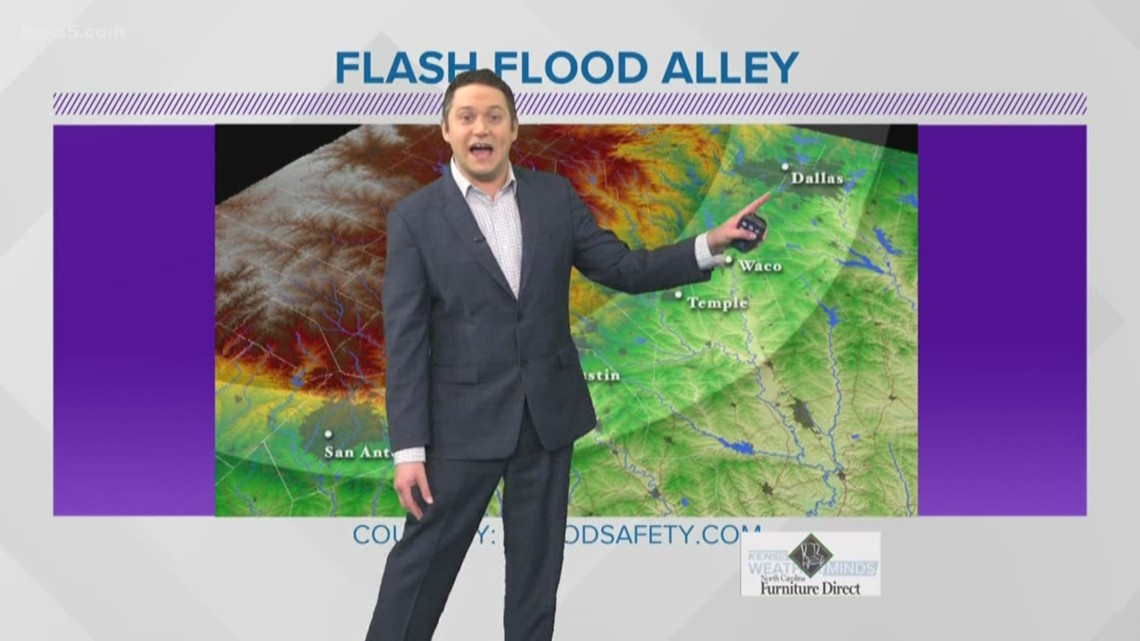 Weather Minds: Flash Flood Alley exists...and San Antonio sits right in the middle of it