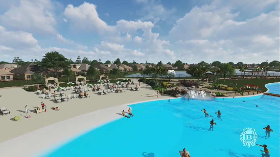Crystal Clear Lagoon Opening In Humble This Summer Kens5 Com