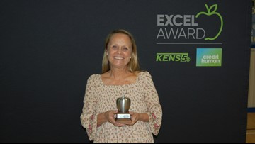 Edie Gross wins EXCEL Award for Randolph Field ISD