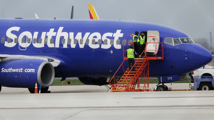 Southwest Airlines grounds dozens of flights for engine inspections