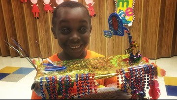 Shoe box float parades cultivate Fiesta fever in elementary students