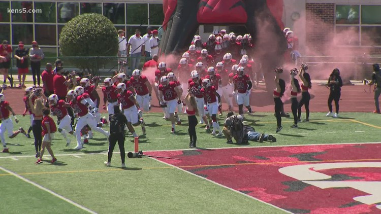 UIW Football wins spring home opener