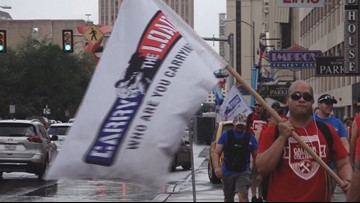 Carry The Load makes a stop in the Alamo City for the third annual rally