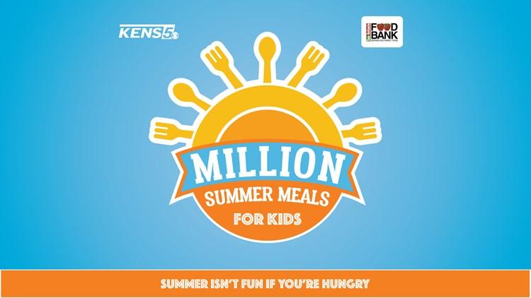 Help us serve 12 MILLION MEALS for kids this summer!
