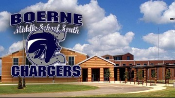Boerne Middle School South locked down after ammunition found on campus