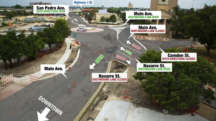 New Downtown Roundabout Opens Next Week Kens5 Com