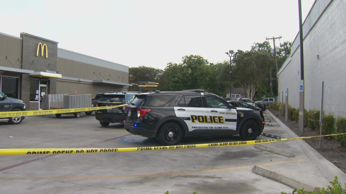 SAPD looking for suspects in gas-station shooting which left one woman injured