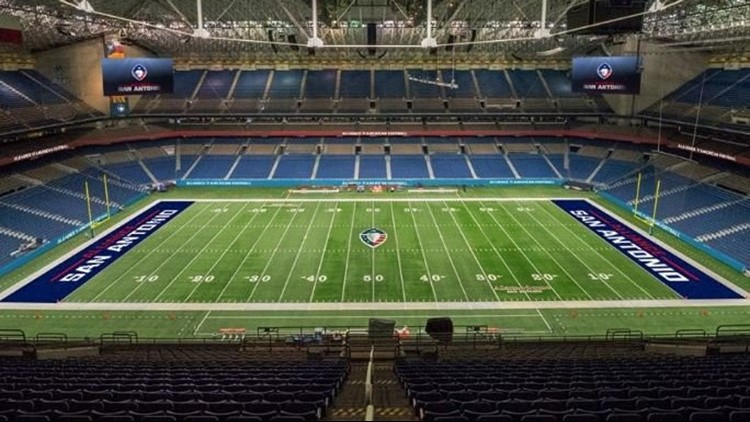 Last but not least: San Antonio Alliance of American Football franchise announced