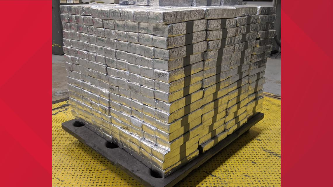 Border Patrol seizes nearly $37 mil in meth hidden inside tomato shipment