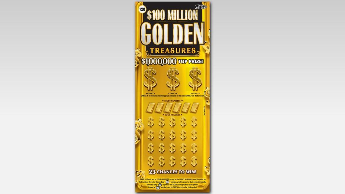 San Antonian wins $1 million on scratch-off ticket | kens5 com