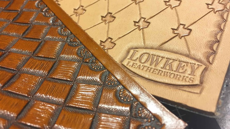 A San Antonio Police Officer by day, leather craftsman by night. We meet the owner of Low Key Leather Works in this week's Made in S.A.