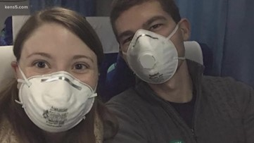 SA newlyweds grateful to be back in Texas after being quarantined on cruise ship